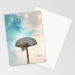 basketball hoop 8 Stationery Cards