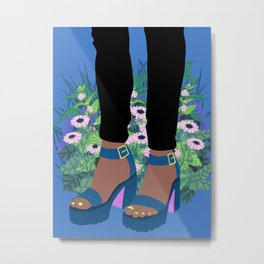 Welcome to the Shoe Show #4 Metal Print