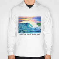 indonesia Hoodies featuring  Surf Art  Indonesia by Surf Art Gabriel Picillo