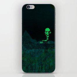 Aloft A Mountain [GREEN] iPhone Skin