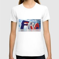 france T-shirts featuring France by Carlo Toffolo
