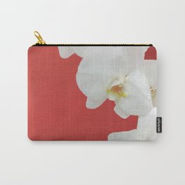 Watermelon Orchid Carry-All Pouch