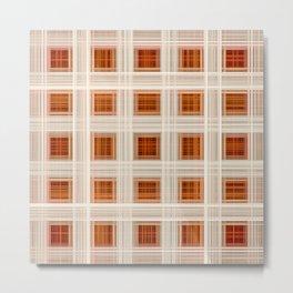 Ambient 11 Squares Metal Print