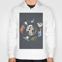 cosmic Hoodies featuring Cosmic by AnnaW