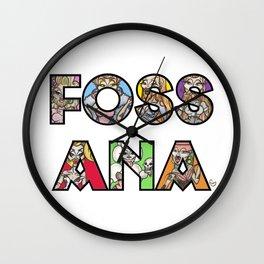 Fossana Wall Clock