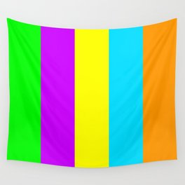 Neon Mix #3 Wall Tapestry