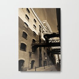 Butlers wharf London Metal Print