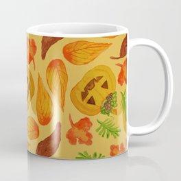 retro lovely jack-o-lantern pattern Coffee Mug