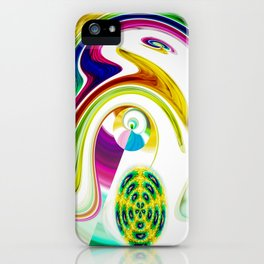 Abstract Perfection 25 iPhone Case