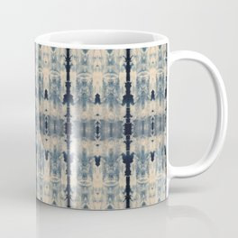 Vintage Shibori Eight Coffee Mug