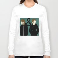 tegan and sara Long Sleeve T-shirts featuring tegan & sara by lizbee
