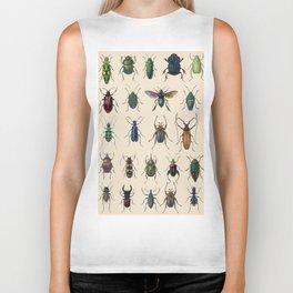 Insects, flies, ants, bugs Biker Tank