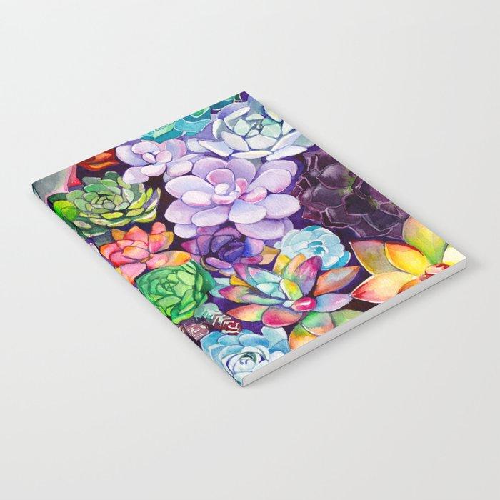 Succulent Garden Notebook