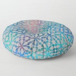 Flower of Life Variation - pattern 3 Floor Pillow