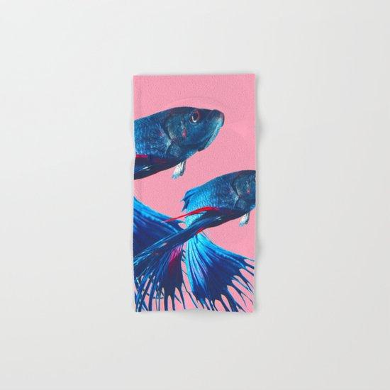 Betta fish Hand & Bath Towel