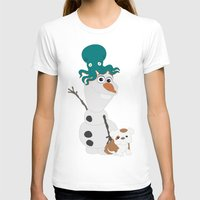 olaf T-shirts featuring Olaf & Pals by Cheshire Giraffe