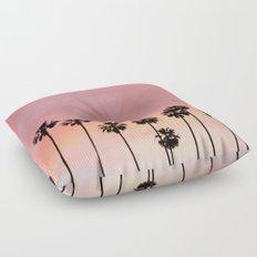Blushing Palms Floor Pillow