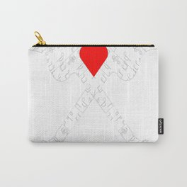 The Heart Of Music Carry-All Pouch
