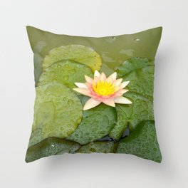 Lily-Livered Scoundrel Throw Pillow