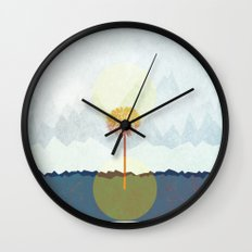 Dandelion Wall Clock
