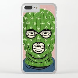 Cactus Jack Clear iPhone Case