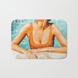 Mi Bebida Por Favor #painting #summer Bath Mat