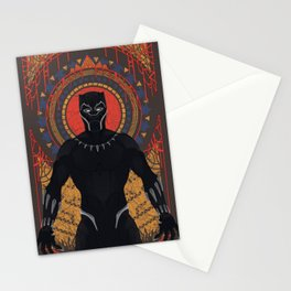 The Panther Stationery Cards