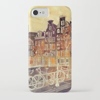 takmaj iPhone & iPod Cases featuring Amsterdam by takmaj