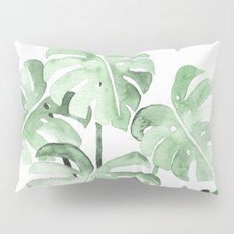 Delicate Monstera Green #society6 Pillow Sham