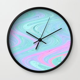 Melding Dreams Wall Clock