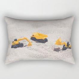 Construction Site Rectangular Pillow
