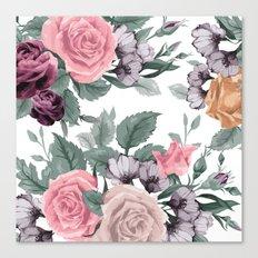 FLOWERS VIII Canvas Print