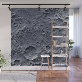 Moon Surface Wall Mural