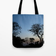 African Trees Tote Bag