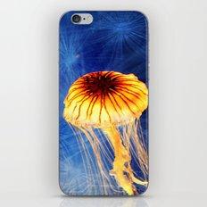 Jellyfishing iPhone & iPod Skin