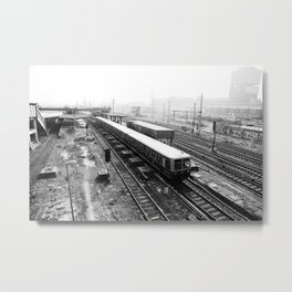 S-Bahn Berlin Metal Print