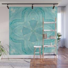 Jade Agate Stone Flower Wall Mural