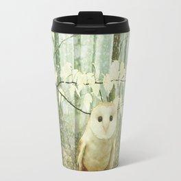 Winter Owl Travel Mug
