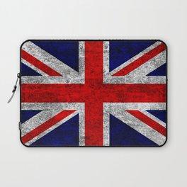 Union Jack Grunge Flag Laptop Sleeve