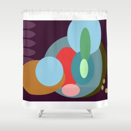 Googly Shower Curtain