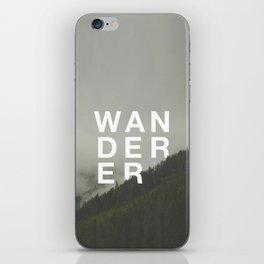 WANDERER V.2 iPhone Skin