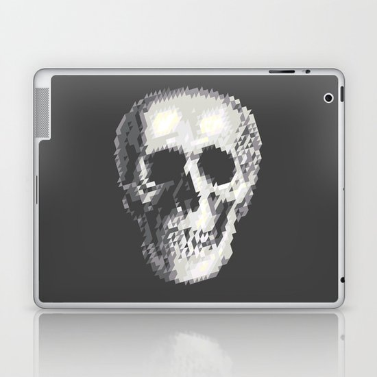 Tri Skull Laptop & iPad Skin