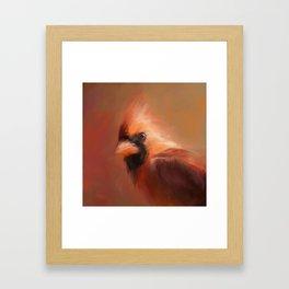 Cardinal 1 Framed Art Print