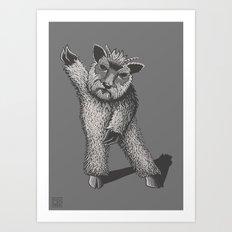 Dancefloor Demon Art Print