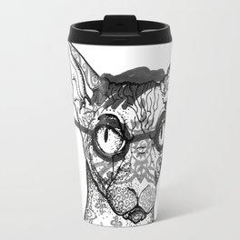 Tattoo cat Travel Mug