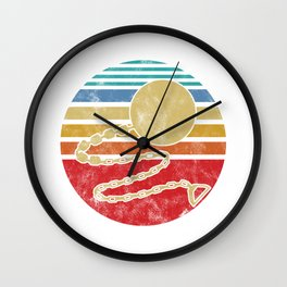 Jugger in Chain Weapon Gift Wall Clock