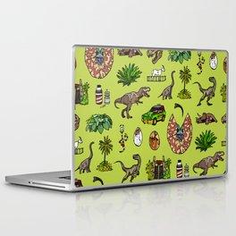 Jurassic pattern lighter Laptop & iPad Skin