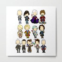 The Doctors Metal Print