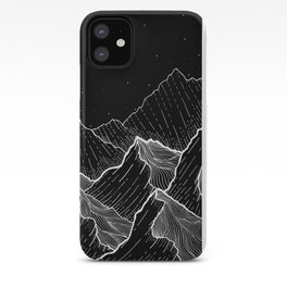 Sea mountains iPhone Case