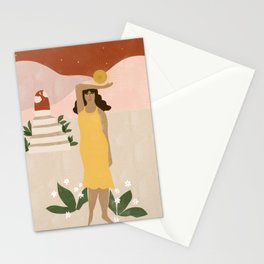 Stairway to Unknown Stationery Cards